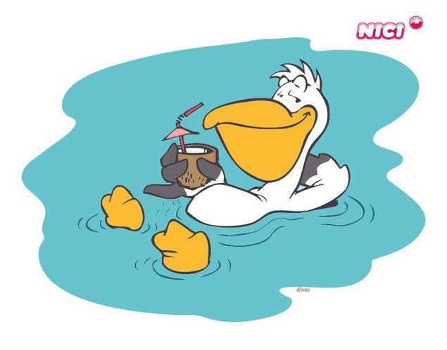Wandtattoo Peet im Wasser