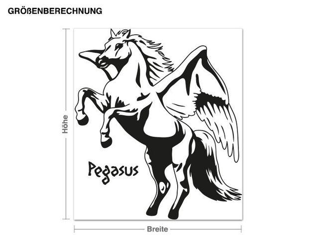 Wandtattoo Pegasus