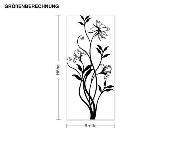 Wandtattoo Rankende Blüten