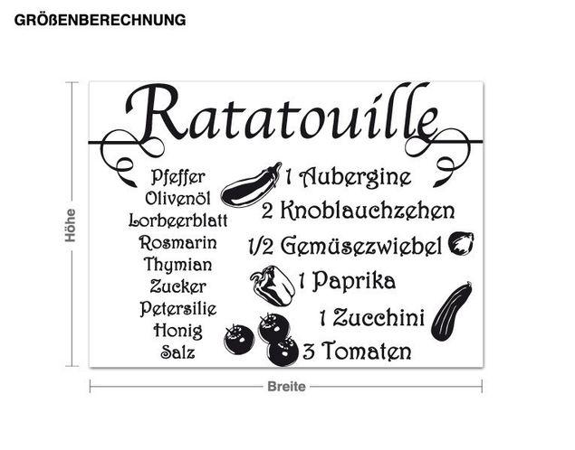 Wandtattoo Ratatouille