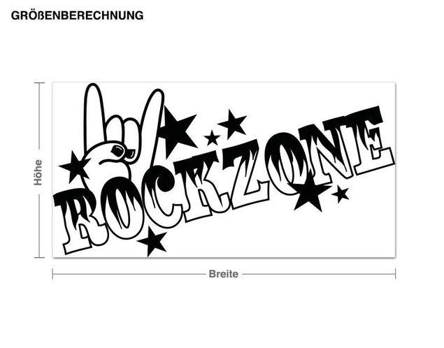 Wandtattoo Rockzone