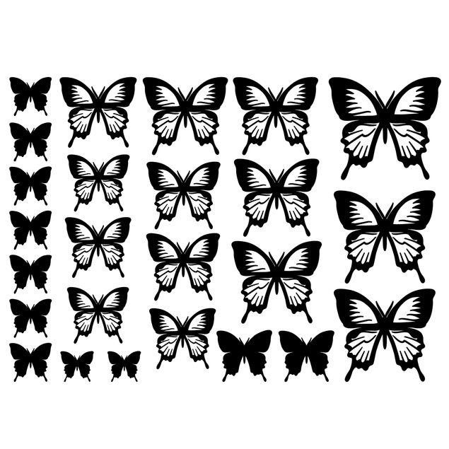 Wandtattoo - Schmetterlinge Set III