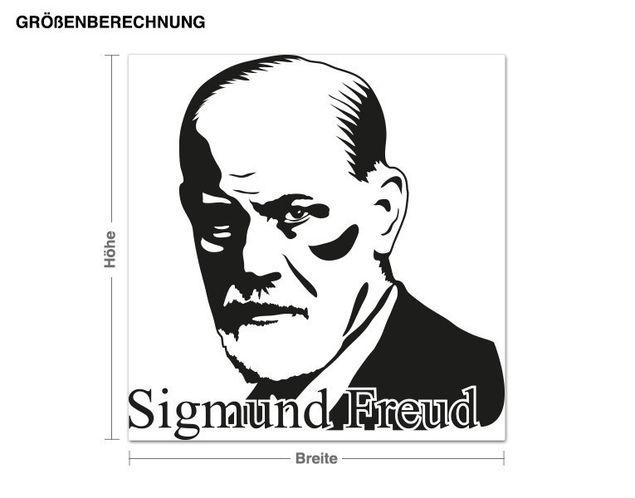 Wandtattoo Sigmund Freud