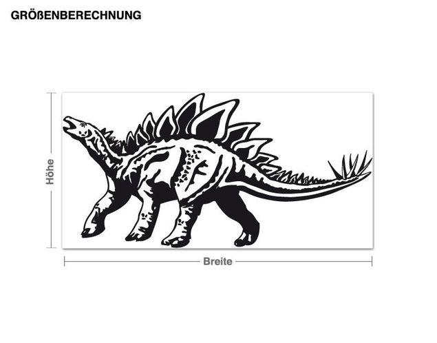 Wandtattoo Stegosaurier