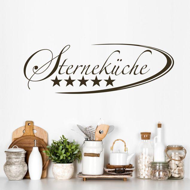 Wandtattoo Küche - Sterneküche