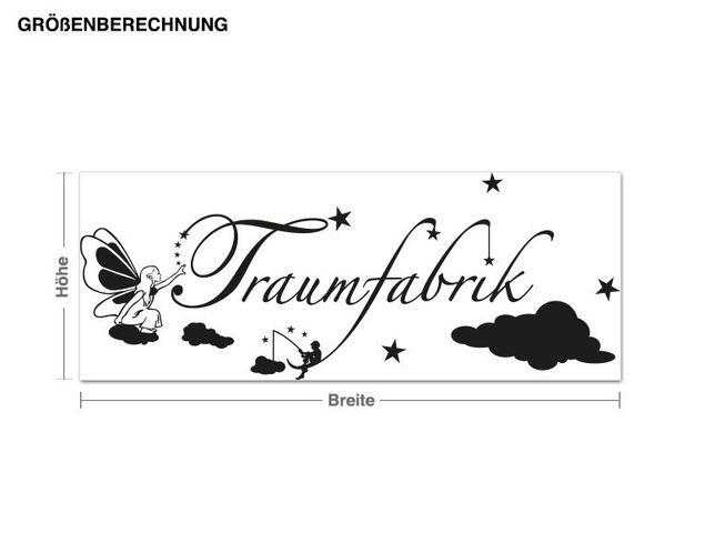 Wandtattoo Traumfabrik3