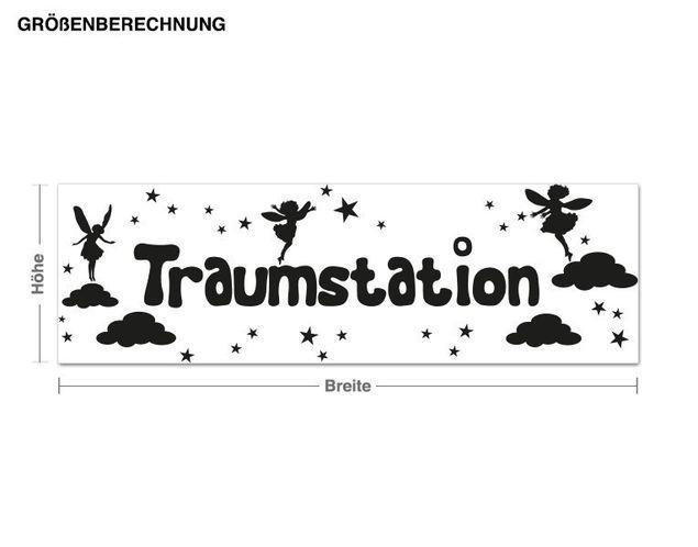 Wandtattoo Traumstation
