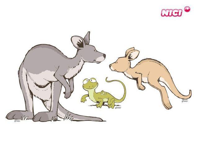 Wandtattoo Wild Australia