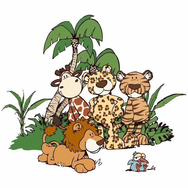 Wandtattoo Wild Friends