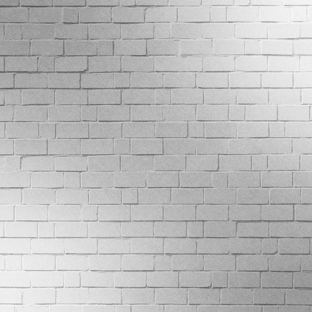 Metallic Tapete  - White Stonewall