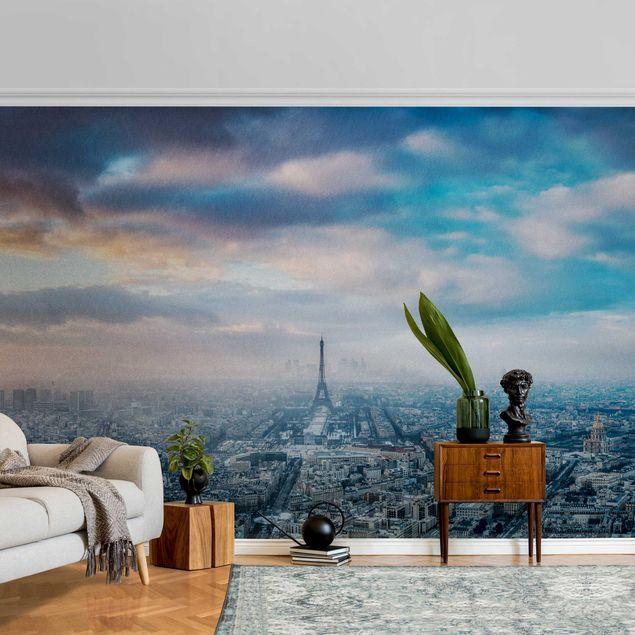 Metallic Tapete - Winter in Paris